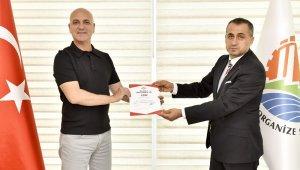 Antalya OSB, TSE Covid-19 güvenli hizmet belgesi alan ilk kuruluş oldu