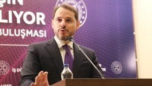 Bakan Albayrak'tan ekonomik verilere ilişkin mesaj