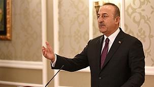 """Bakan Çavuşoğlu: """"Libya'da tek çözümün siyasi çözüm olduğunu içlerine sindirsinler"""""""