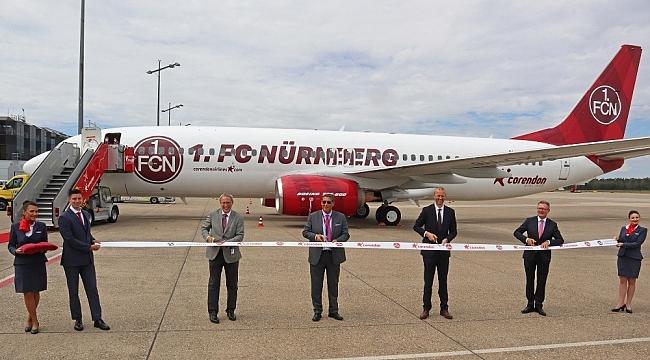 Corendon Airlines 1. FC Nürnberg ile sponsorluk anlaşması imzaladı