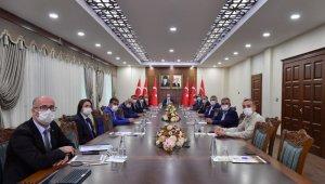 Diyarbakır'da Lojistik Köy Projesi toplantısı