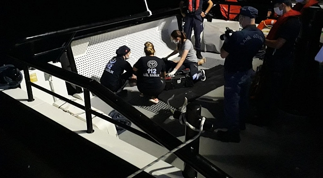 Edremit Körfezinde tekne battı: 1 ölü, 2 yaralı
