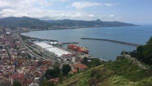 Giresun Limanı'ndan Haziran ayında 45 bin ton ürün ihraç edildi