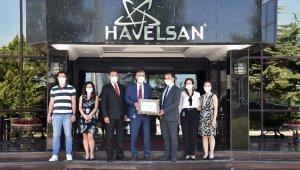 HAVELSAN, YYS'yi Ticaret Bakanlığından aldı
