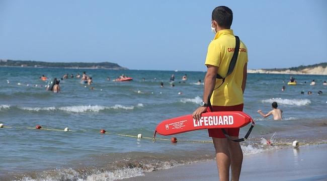 Kocaeli sahillerinde 158 kişi boğulmaktan kurtarıldı