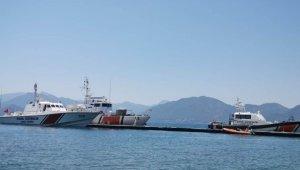 Marmaris'te balık avında kaybolan gemiciyi arama çalışmaları devam ediyor