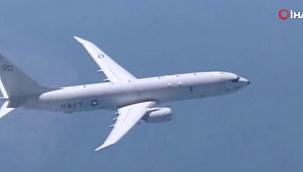 Rus savaş uçağı, Karadeniz üzerinde uçuş yapan ABD uçağını uzaklaştırdı