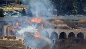 Tarihi Millet Hanı'nda yangın
