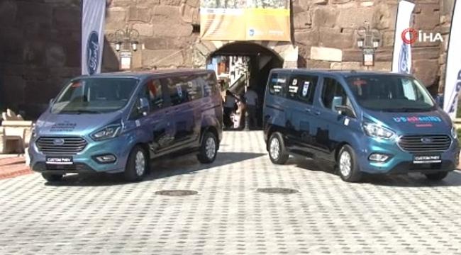 Türkiye'nin ilk ve tek yerli, hibrit elektrikli aracı Ankara'da kullanılacak