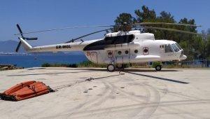 Türkiye'den KKTC'ye yangın helikopteri
