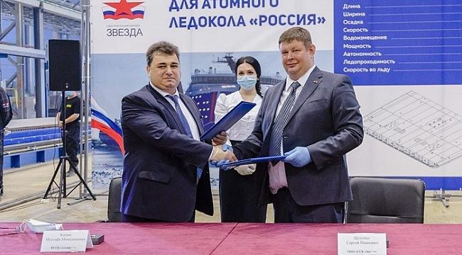 Uzak Doğu'da dünyanın en büyük nükleer buzkıran 'Rossiya'nın yapımına başlandı
