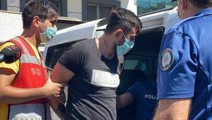 Alibeyköy'de trafikte kadına dehşeti yaşatan şahıs adliyeye sevk edildi