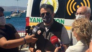 Bakan Pakdemirli açıkladı: Çeşme'deki yangın tamamen kontrol altında