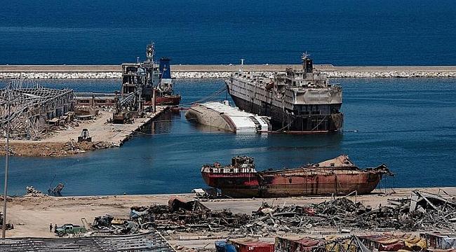Beyrut Limanı'nda tehlikeli madde içeren 79 konteyner bulundu
