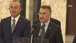 """Cumhurbaşkanı Yardımcısı Oktay: """"Mersin Limanı, Lübnan'ın hizmetinde olacak"""""""