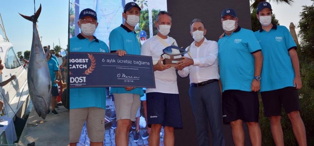 Didim Açık Deniz Sportif Balık Avı yarışmasının ikincisi yapıldı