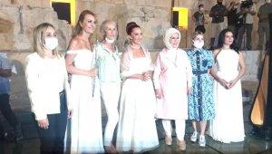 Emine Erdoğan, Patara Antik Kenti'ni ziyaret etti