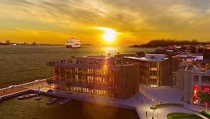 """Galataport, """"Pandemi sürecinde en yüksek performans gösteren liman"""" seçildi"""