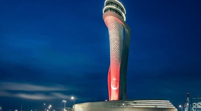 İstanbul Havalimanı'nda yolcu ve işletmelere korona virüs denetimi