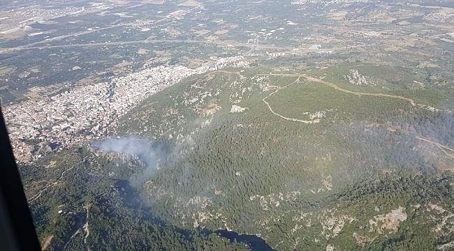 İzmir'de peş peşe orman yangınları