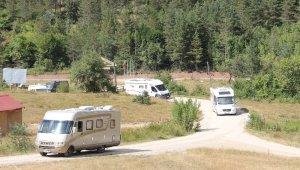 Kamp karavan turizminin ilgisi Karadeniz'e yöneldi