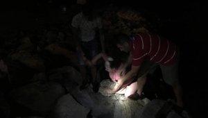 Kuşadası'nda alkollü turist denize atladı ilçeyi ayağa kaldırdı