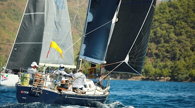 Marmaris'te Yelken yarışları tekrar strat verdi