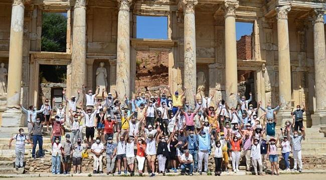 """Rehber odalarının hazırladığı"""" Efes'e Hoş geldiniz """" tanıtım videosu yayınlandı"""