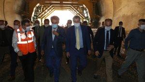 Salarha Tüneli'nde 'Işık Göründü'