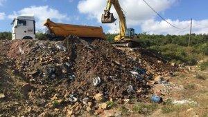 Sanayi atıklarını doğaya döken firmaya ibretlik ceza