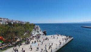 Sinop bayramda çekim noktası oldu