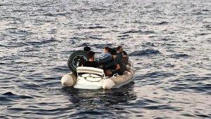 5 düzensiz göçmen kurtarıldı