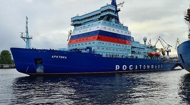 'Arktika', dünyanın en büyük ve en güçlü nükleer buzkıranı olacak