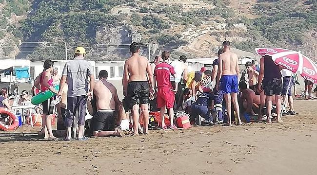 Denize giren 3 kişi boğulmaktan kurtarıldı