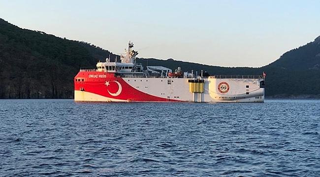 """Enerji ve Tabii Kaynaklar Bakanlığından """" Oruç Reis"""" açıklaması"""
