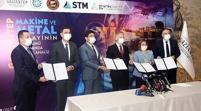 Gaziantep sanayisinin dönüşümü için ilk imzalar atıldı