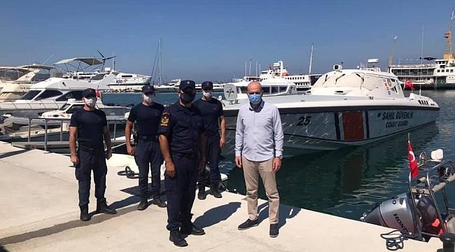 Gemlik Körfezi'nde 2 yeni sahil güvenlik botu hizmete girdi