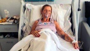 İngiliz hasta kadın ülkesine döndü