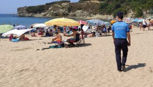 Kocaeli'deki plajlardaki denetimler sürüyor
