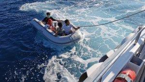 Kuşadası Körfezi'nde 4 düzensiz göçmen kurtarıldı