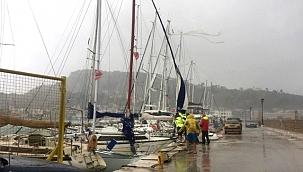 Medicane tropik fırtınası, Zakynthos Adası'nı vurdu