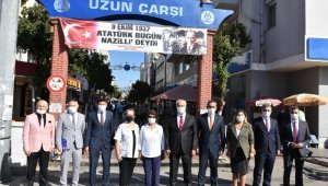 Atatürk'ün Nazilli'ye gelişi törenlerle kutlandı