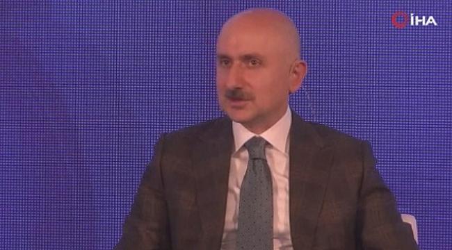 """Bakan Karaismailoğlu: """"Amacımız Mayıs 2021'de Kağıthane-Havalimanı hattını açmak, Eylül 2021'de hattın tamamını açmak"""""""