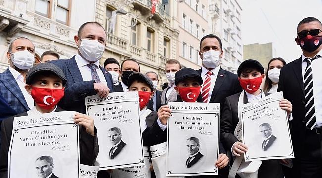 Cumhuriyet Bayramı'na özel Beyoğlu Gazetesi