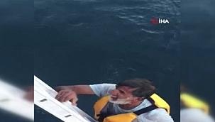 Deniz otobüsü personeli hayat kurtardı