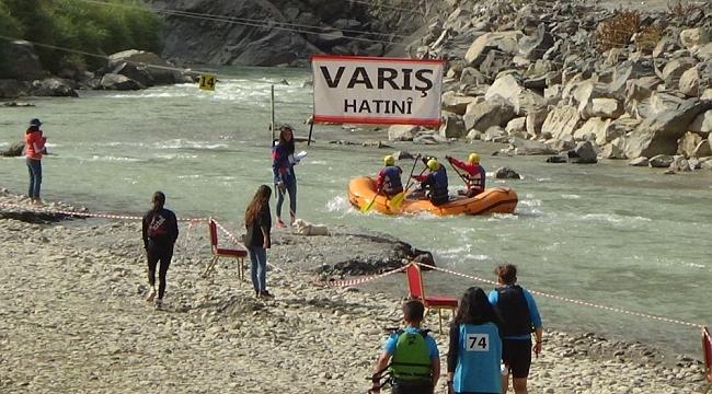 """Hakkari'de düzenlenen """"Türkiye Rafting Şampiyonası"""" sona erdi"""