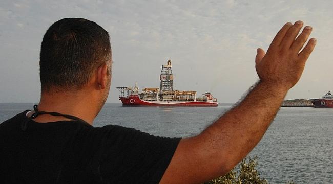 Kanuni Sondaj Gemisi Mersin'den demir aldı
