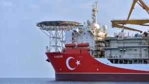 Kanuni sondaj gemisinin bakım ve onarımı tamamlandı