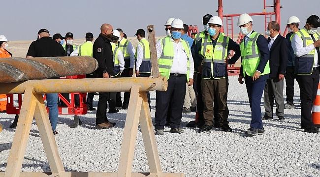 Karadeniz gazı Tuz Gölü Yeraltı Depolama sahasında depolanacak