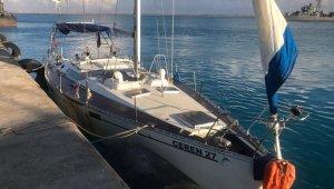 Mısır Donanması, Akdeniz'de Türk bayrağını taşıyan bir tekneyi kurtardı